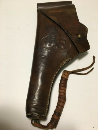 Us M1917.  45 Revolver Leather Holster