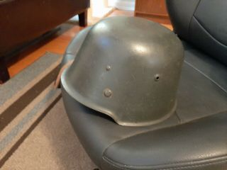 East German Model 54 Helmet.  Complete/near.