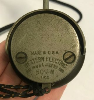 WWI 1918 Dated Signal Corps US Army Wavemeter Type SCR 61 Crystal Radio 12