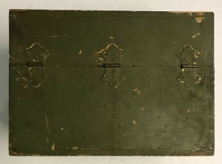 WWI 1918 Dated Signal Corps US Army Wavemeter Type SCR 61 Crystal Radio 4