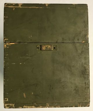 WWI 1918 Dated Signal Corps US Army Wavemeter Type SCR 61 Crystal Radio 5