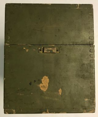 WWI 1918 Dated Signal Corps US Army Wavemeter Type SCR 61 Crystal Radio 6