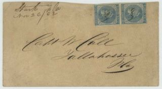 Mr Fancy Cancel Csa 7 Pr Cover Stark Fla Nov 26 /62 Postmark Cv$235,  Ex - Kaufmann