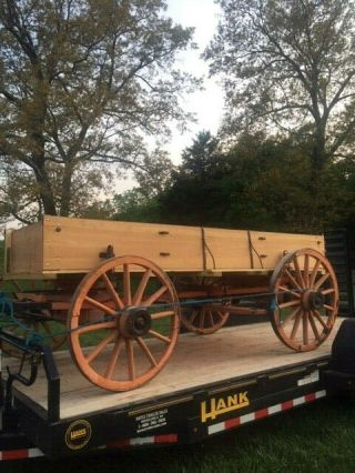 Owensboro Horse Drawn Wagon Needs Work To Be Driven