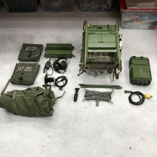 Rockwell Collins Prc - 515 - Ru - 20 Military Hf Radio Transceiver And Accessories