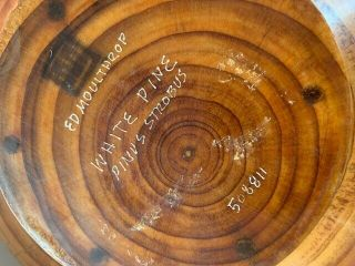 Ed Moulthrop Turned Wood Bowl