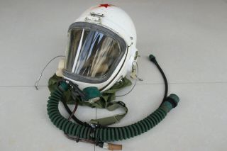 Militaria High Altitude Mig - 19 Fighter Pilot Protection Helmet Tk - 1