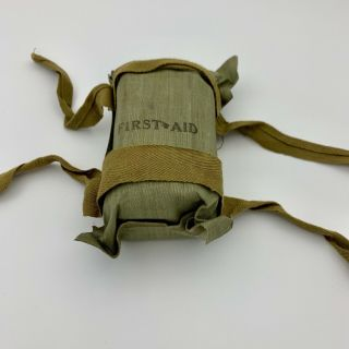 Ww2 Us Paratrooper First Aid Kit Pouch All Full Content