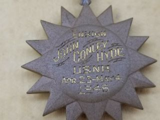 WWII US Navy Pilot KIA Cased Medal Trio Distinguished Flying Cross Air Medal USN 9