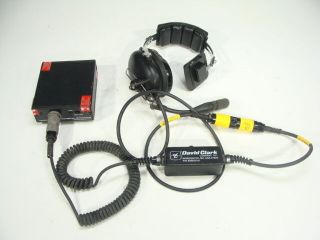 David Clark General Dynamics Communications Headset For Mbitr An/prc - 148 & More