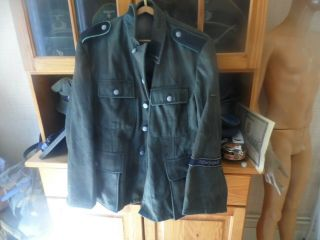 12th H.  J Jacket M43 With Markings Normandy Complete