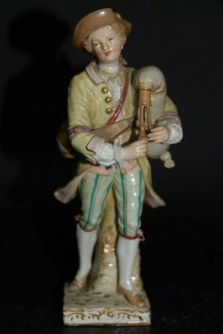 Very Fine Quality Early Kpm Berlin Porcelain Figure - Extremely Rare - L@@k