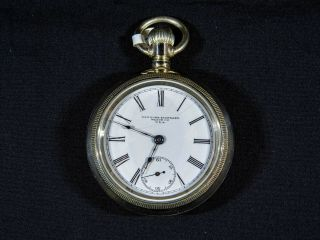 York Standard,  Grade 360,  18s,  7 Jewels,  Ca 1885 - 1929 Antique Pocket Watch