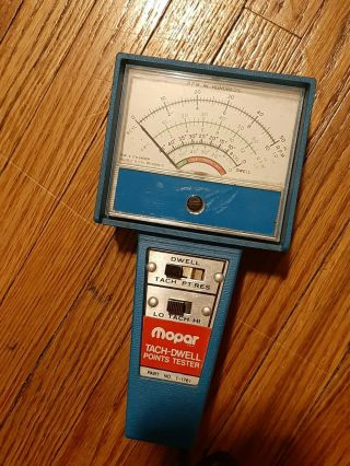 Mopar Tachometer Tack - Dwell Points Tester Part No.  1 - 1761 One - Of - A - Kind Rare