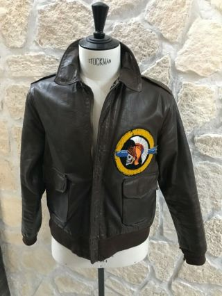 Wwii A2 Jacket 533 Bomb And Picts