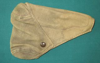 Rare Wwii Japanese Type 94 T - 94 Canvas Holster Vet Bring Back