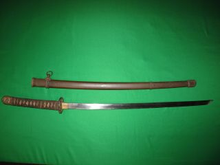 Interesting Old Blade Japanese Ww2 Sword Old With Signed Tang