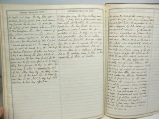 1862 Civil War Diary of Southern Lawyer in Occupied Alexandria Virginia 4