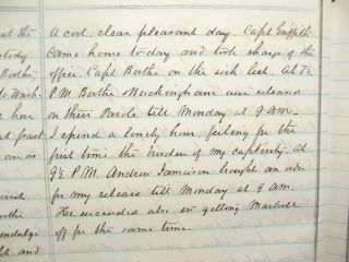 1862 Civil War Diary of Southern Lawyer in Occupied Alexandria Virginia 8