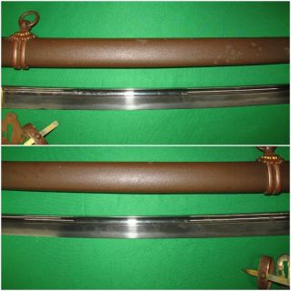 Japanese Pre WW2 Army Sword with Old Blade and Familie Mon 5