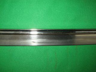 Japanese Pre WW2 Army Sword with Old Blade and Familie Mon 8