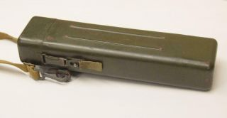 WWII German AJACK 4 x 90 ZF39 K98 Sniper Scope w/ Case / Container 10