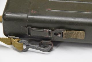 WWII German AJACK 4 x 90 ZF39 K98 Sniper Scope w/ Case / Container 11