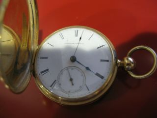 American Watch 14 Karat Gold Pocket Watch Early 1900