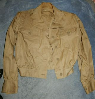 Ww2 Us Army Air Corps Women Nurses Flying Jacket And Trousers Type K - 1