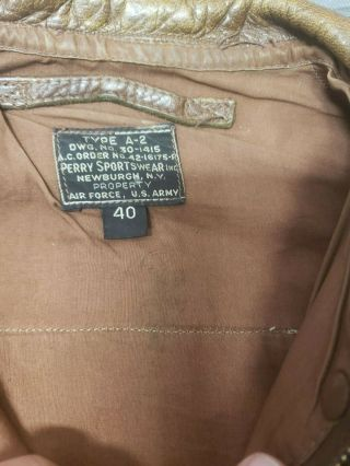 WWII A - 2 Jacket with Insignia CBI 5