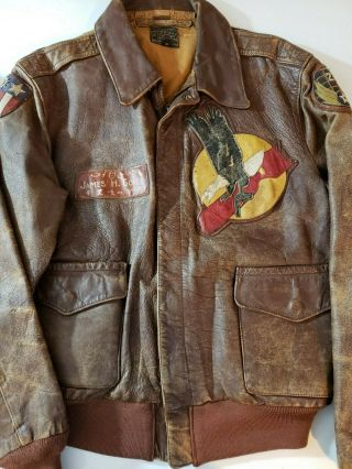 Wwii A - 2 Jacket 20th Aaf B - 29