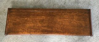 """41"""" Antique Oak Globe Wernicke Stacking Bookcase Top Section"""