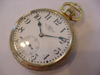 Rare Ball 23j Hamilton 999 Delong 4 Star Railroad Pocket Watch Books $10k