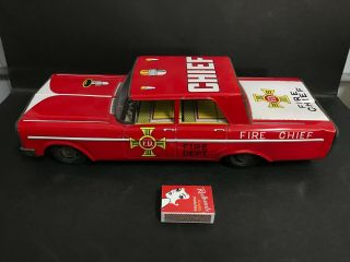 Fire Chief 1960