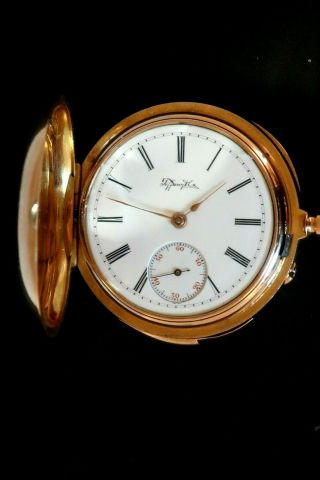 Very Small Minute Repeater Pocket Watch 2
