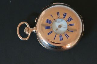 Very Small Minute Repeater Pocket Watch 3