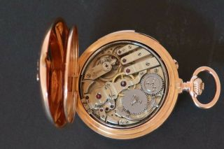 Very Small Minute Repeater Pocket Watch 4
