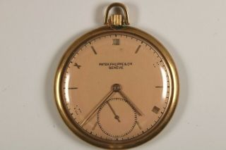 Vintage Patek Philippe Pink Gold Pocketwatch