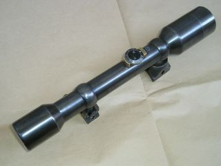 Ww2 German Ajack 4x90 Model 43 Sniper Scope Mauser K98 Zf39 High Turret