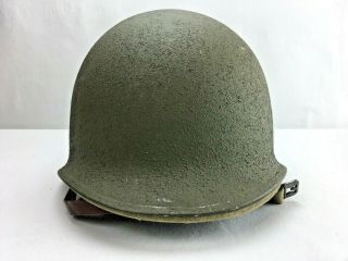 Rare Colonel Ww2 Wwii Korea Us Army Military Helmet M1 With Liner R02