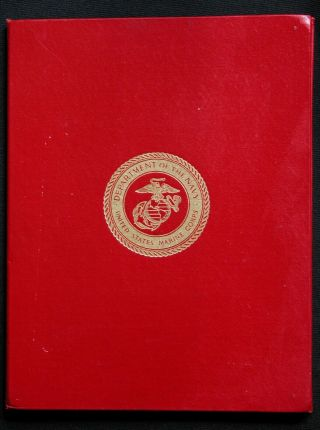 Vtg 70s Bronze Star Medal Certificate Write Up Usmc Us Military Navy Vietnam War