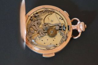 4 K Gold Minute Repeater Pocket Watch