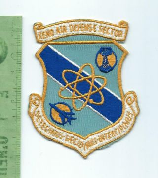 Us Air Force Usaf Reno Air Defense Sector Patch