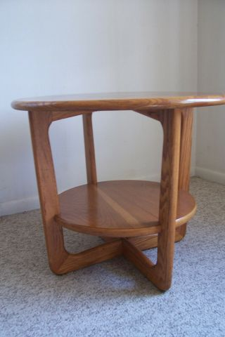Adrian Pearsall Walnut Side/end Table Lane Mid Century Modern