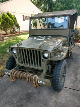World War II 1945 Willy ' s Jeep 2