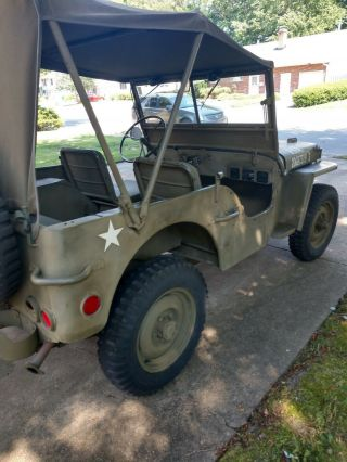 World War II 1945 Willy ' s Jeep 3