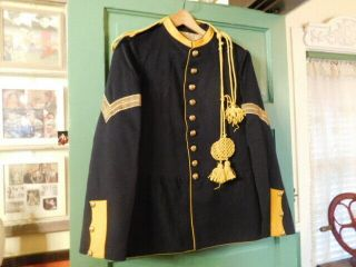 Rare Authentic Indian Wars Us Army Cavalry 1884 Enlisted Dress Uniform Coat