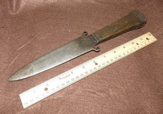 Old Wells Fargo & Co Knife Stagecoach Agent