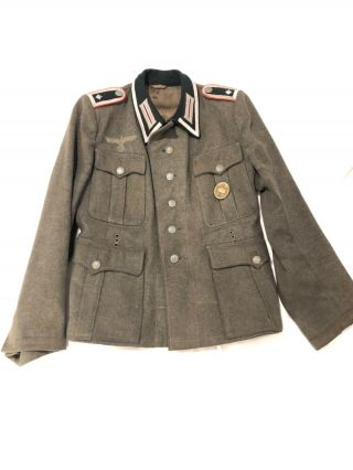 German Wehrmacht Artillery Nco M41 Tunic Wwii