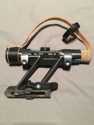 Gw Zf4 Scope And Swept Back Mount For G43 K43 K98 German Wwii